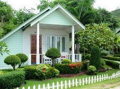 Desain taman rumah mini minimalis