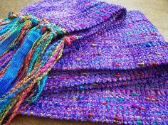 Purple handwoven