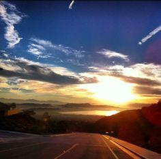 Lake Elsinore sunrise