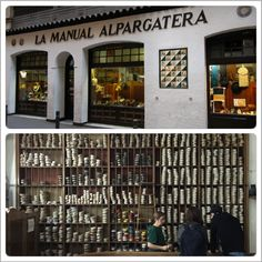Also, while in Barcelona, you MUST go to La Manual Alpargatera for hand made espadrilles. You can choose from what they have in stock or even get customs ones made. And I am not the only one who thinks the world of these shoes, so does Salvador Dali, Ralph Lauren, & Jean Paul Gaultier.      For more info: http://lamanualalpargatera.es