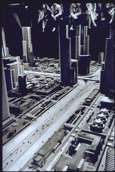 "General Motors exhibit, ""Futurama,"" Norman Bel Geddes designer, New York World's Fair, 1939."