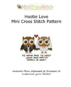 Hootie Love Mini Cross Stitch Pattern by Pinoy Stitch, http://www.amazon.com/gp/product/B00B0MLYCA/ref=cm_sw_r_pi_alp_9V-8qb1Y6V04K