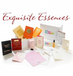The Perfume Society Exquisite Essences Discovery Box