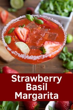 Patrick's Day Drinks Great Recipes, Favorite Recipes, Amazing Recipes, Delicious Recipes, Homemade Margaritas, Margarita On The Rocks, Lime And Basil, St Patricks Day Food, Good Food
