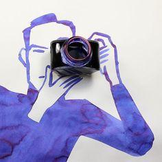Abstract Sunday - Quando Christoph Niemann brinca com objetos do cotidiano! Objects, Funny Illustration, Christoph Niemann, Creative, Abstract Art, Creative Sketches, Everyday Objects, Creative Drawing, Creative Illustration