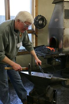 Blacksmithing- Building Skills  February 10-16, 2013 Susan Hutchinson | John C. Campbell Folk School | Visit us at www.folkschool.org to find out more about our classes & events