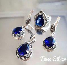925 Ayar Margazit Taşlı Özel Tasarım Set 210,00 TL Stok Kodu: 2019  #gümüş #ring #earring #bayantakı #kolye #tria #yüzük #küpe #gümüş #jevellery #silver #takı #taki #set #women #moda #tumbrl #repost #follow