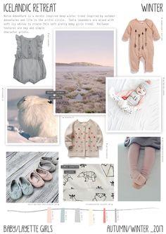 Emily Kiddy: Icelandic Retreat - Autumn/Winter 2016/17 - Baby/Layette Girls Trend
