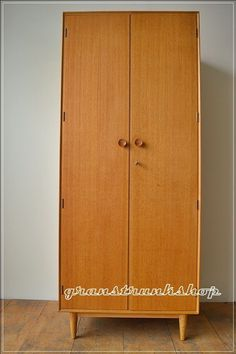 vintage mid century teak Merdew Furniture  wardrobe danish design UK DELIVERY