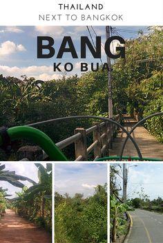 Wenn Du dem Stress und der Hektik Bangkoks mal für ein paar Stunden entkommen möchtest, ist Bang Ka Bua genau das richtige für dich!