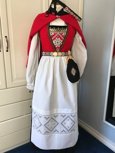 Made by Inger Johanne Wilde Norwegian Clothing, Lapland Finland, Hardanger Embroidery, Going Out Of Business, Most Favorite, Clothing Styles, Victorian Era, Ephemera, Norway