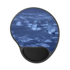 Footprints at the #South #Pole Gel #Mousepads $12.95