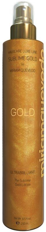 Золотой спрей-лосьон для ультра-блеска волос Ultra Brilliant The Sublime Gold Lotion, Miriam Quevedo