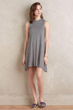 Mockneck Swing Dress - anthropologie.com