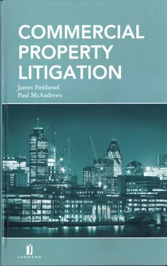 Commercial Property Litigation is a new authoritative handbook for property litigators. It combines an analysis of the relevant substantive law and procedure with practical know-how focusing on common issues and problems faced by the property litigator.    The authors' explanatory commentary is supported by expertly drafted precedents, checklists, and extracts from key pieces of legislation and procedural rules, which are contained on an accompanying CD. Price: £95.00