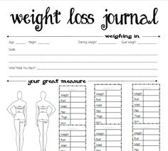 weight loss diet weight loss gym workout health and fitness Free Printable Weight Loss Journal Best Weight Loss, Weight Loss Tips, Lose Weight, Weight Loss Chart, Loosing Weight, Lose Fat, Gewichtsverlust Motivation, Weight Loss Motivation, Herbalife Motivation