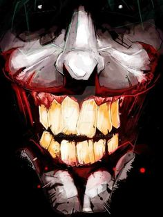The Joker Wicked Smile Comic Book Characters, Comic Character, Comic Books Art, Comic Art, O Joker, Joker And Harley Quinn, Dc Comics Art, Marvel Dc Comics, Les Oscars