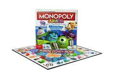 El monopoly más divertido fabricado por Hasbro con los protagonistas de Monstruos S.A. Los niños estarán encantados de poder vivir y disfrutar con Mike y Sulley de sus aventuras en la universidad. El Monopoly Junior de Monstruos University es el juego de mesa que encantará a los peques de la casa. Fabricante: Hasbro.