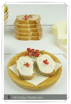 Mi dulce tentación: pate de bacalao Krispie Treats, Rice Krispies, Dips, Cheesecake, Food And Drink, Cooking, Healthy, Desserts, Recipes