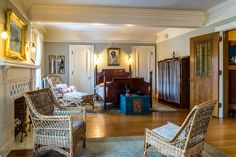 The Married Guest Bedroom in Glensheen Mansion. This room can be seen on the Expanded Tour.