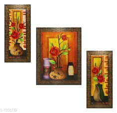Checkout this latest Paintings & Posters Product Name: *Colorfull Wall Painting (Set Of 3)* Country of Origin: India Easy Returns Available In Case Of Any Issue   Catalog Rating: ★4 (200)  Catalog Name: Spiritual Colorfull Wall Paintings Combo Vol 2 CatalogID_202309 C127-SC1611 Code: 872-1556172-645