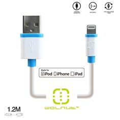 Apple Certified MFi Lightning Cable Charger iPhone 5/5s/5c/6/6 Plus - Apple approved and certified MFi (Made for iPod, iPhone, iPad) charging cable  - Will not generate error messages saying cable is not certified - High gauge coiled cable - Compatible with iPhone 5, iPhone Touch (5th Generation), iPod Nano (7th Generation), iPad 4th Generation, iPad Mini (1st Generation, iPhone 5c, iPhone 5s, iPad Air, and NOW iPhone 6 and 6 Plus!!!  - Cable length is appox. 4ft or 1.2 meters