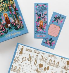 Anne of Green Gables Hardcover Book Published by Puffin In Bloom with Matching Bookmark