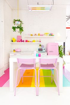 » Aww Sam Studio: Rainbow Kitchen Reveal!