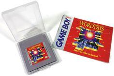 Nintendo Game Boy Original Wordtris Video Game by Original Nintendo, Game Boy, Brain Teasers, Nintendo Games, Video Game, My Etsy Shop, Retro, The Originals, Handmade Gifts