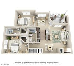 floor plan image of an apartment
