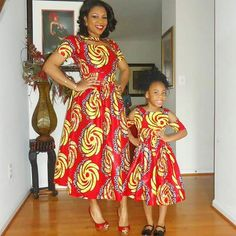 Ultimate and Trendy Ankara Styles that will Wow You - Wedding Digest Naija Long Ankara Dresses, African Dresses For Kids, African Print Dresses, African Fashion Dresses, African Attire, African Wear, African Women, African Style, African Outfits