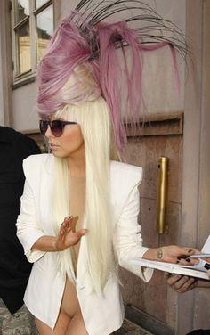 Lady Gaga Hair Hat