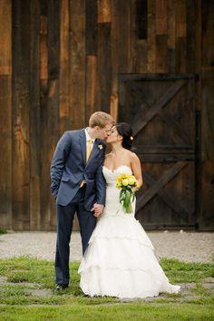 Tara Keely Real Bride. Riverside Farm Wedding from Wayne and Angela  Read more - http://www.stylemepretty.com/2013/06/03/riverside-farm-wedding-from-wayne-and-angela/