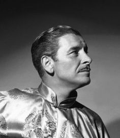 """Ronald Colman in """"Lost Horizon"""" Lost Horizon, Ronald Colman, Classic Movie Stars, Face Men, Awesome Things, Classic Hollywood, Golden Age, Good People, Gentleman"""