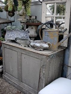 """Just my kind of """"eye-candy""""...  Love Vintage Garden..."""