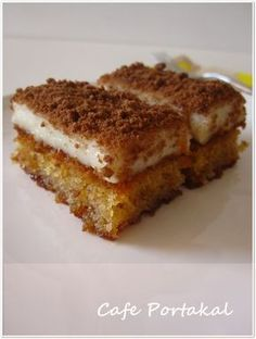 When my friend Emel insisted on this dessert, I immediately added it to the Tea Invitation menu. It& as sweet as she insists. Cake Recipes, Snack Recipes, Dessert Recipes, Cooking Recipes, Mousse Au Chocolat Torte, Pasta Cake, Turkish Sweets, Arabic Food, Turkish Recipes