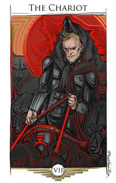 Sevro as The Chariot #piercebrown #redrising #irongold