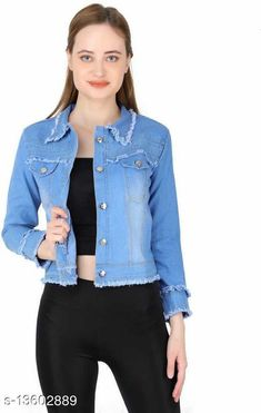 Jackets Trendy Elegant Women Jackets  Fabric: Cotton Blend Sleeve Length: Long Sleeves Pattern: Solid Multipack: 1 Sizes:  S (Bust Size: 34 in, Length Size: 20 in)  XL (Bust Size: 40 in, Length Size: 20 in)  L (Bust Size: 38 in, Length Size: 20 in)  M (Bust Size: 36 in, Length Size: 20 in)  Country of Origin: India Sizes Available: S, M, L, XL   Catalog Rating: ★4.2 (698)  Catalog Name: Trendy Elegant Women Jackets & Waistcoat CatalogID_2676176 C79-SC1023 Code: 182-13602889-576