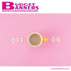 Rise above those Monday blues; it's all that much easier with a coffee and a positive attitude!