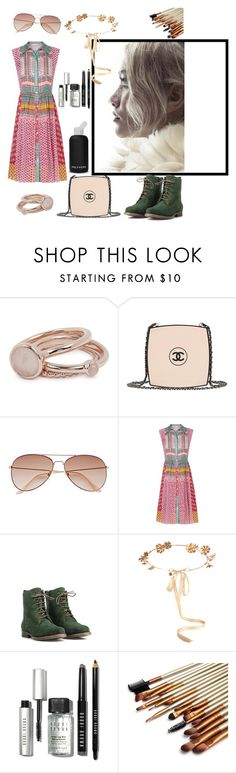 """#ContestOnTheGo #ContestEntry"" by veliskovat on Polyvore featuring Lola Rose, Chanel, H&M, Diane Von Furstenberg, JJ Footwear, Eugenia Kim, bkr, Bobbi Brown Cosmetics, contestentry and ContestOnTheGo"