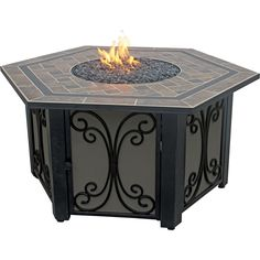 Endless Summer - Gas Fireplace - Brown