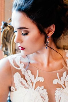 A sumptuous bridal styled shoot with some of our jewelry to accentuate a bride on her wedding day. Bride Portrait, Bespoke Jewellery, Bridal Shoot, Beautiful Bride, Portrait Photography, Wedding Day, Poses, Drop Earrings, Traditional