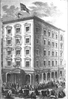 The 1861 Ball, Black & Co. Building -- No. 565 Broadway....Currently, Victoria's Secret