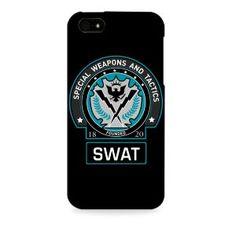 Dark knight-Batman Gotham SWAT Apple I phone 4 & 4S case (Officially Licensed)