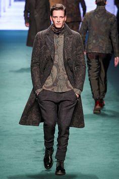 Sfilata Etro Milano Moda Uomo Autunno Inverno 2015-16 - Vogue