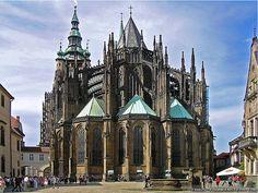 Prague, Czech Republic - St. Vitus Cathedral