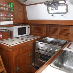 Spring Cleaning in the Galley -- There's more involved than immediately meets the eye.  From TheBoatGalley.com