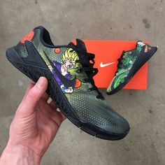 big sale d2382 ef642 Dragon Ball Z Themed Nike Metcon. Lit ShoesNike RosheYour ShoesCrossfit Gym Custom ...