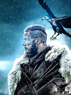 #Vikings series #Ragnar by thecasperart.deviantart.com on @DeviantArt
