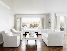 the style saloniste: In San Francisco: White Out — Rooms with a Point of View